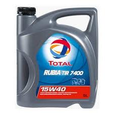 Total Rubia TIR 7400 15w40 5L,20L,208L